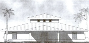 Mission House drawing