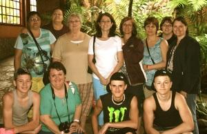Mission Group enjoying the beautiful LA PAZ.